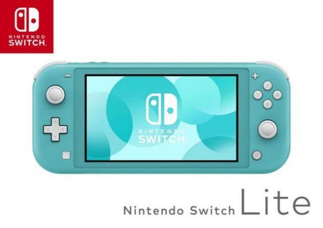 Nintendo Announces Switch Lite Launch Date