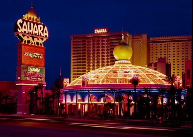 SLS Reverts To Sahara Las Vegas