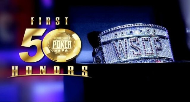 WSOP Honours Pokers Best At First Fifty