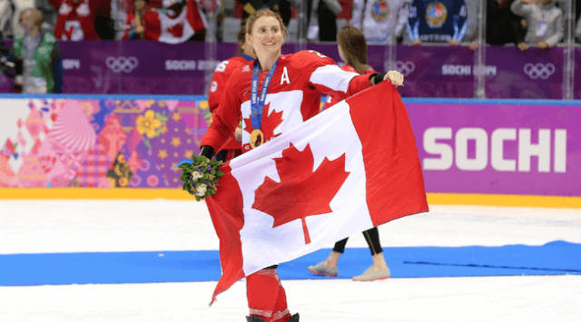 Wickenheiser Receives Highest Hockey Honour