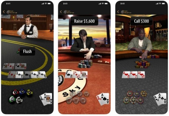 Apple Re-Launches Texas Hold'em In App Store