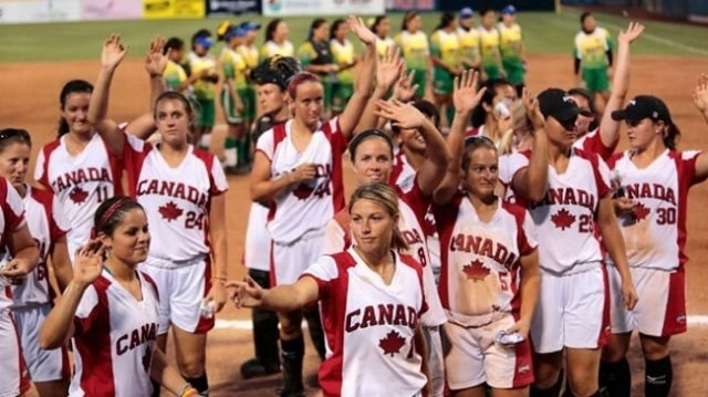 Canada_Womens_Softball_Team