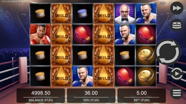New Let's Get Ready To Rumble Slot By Relax