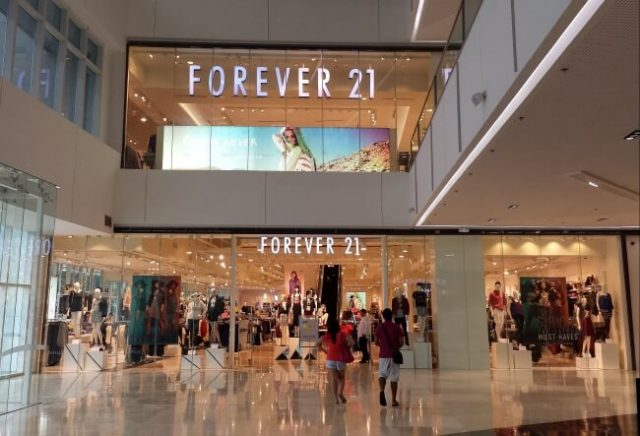 Forever 21 Retail store