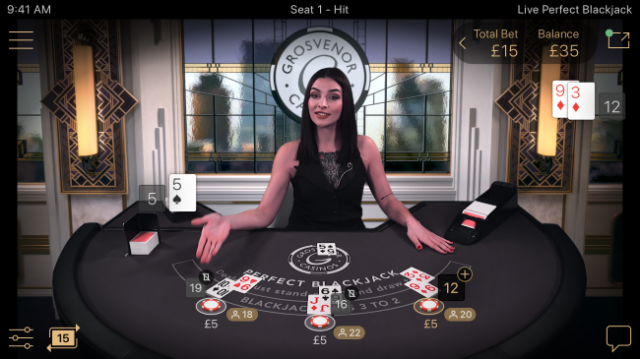 NetEnt Launches Live Perfect Blackjack
