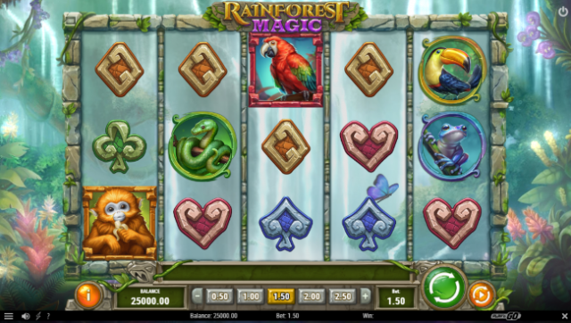 Play'n GO Thrills With Rainforest Magic Slot