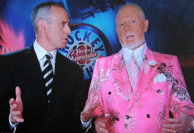 Don Cherry Fired Over Immigrant Remarks