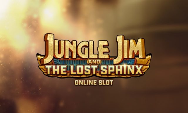 Jungle Jim And The Lost Sphinx Is Now Live