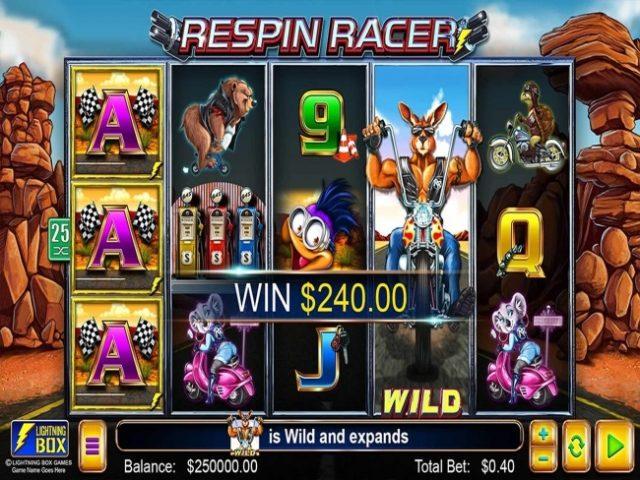 Lightning Box Releases Respin Racer Slot