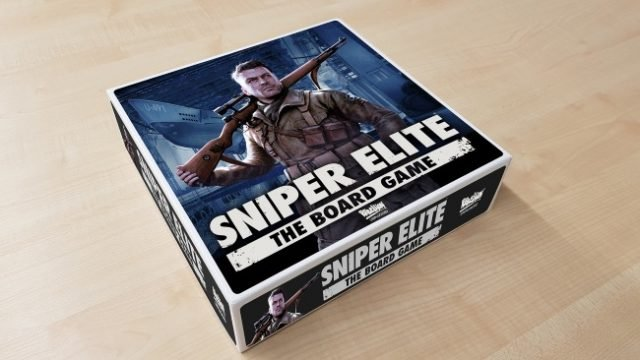 Rebellion To Launch Sniper Elite Board Game