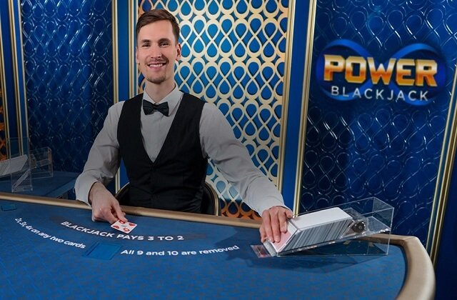 Evolution Gaming Launches Power Blackjack