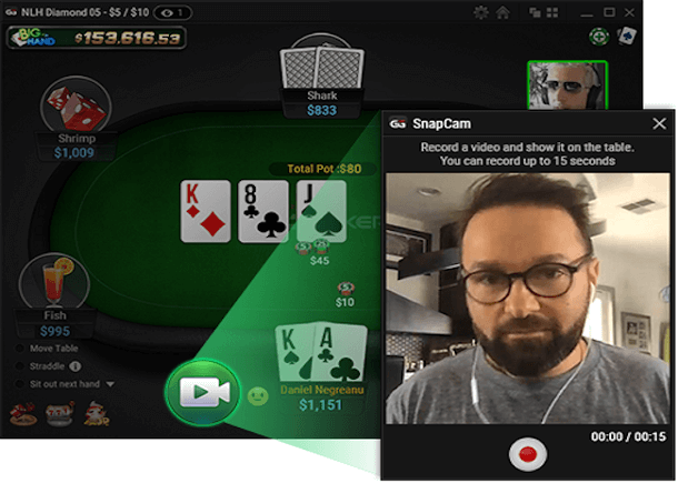 GGPoker Rolls Out New SnapCam Feature