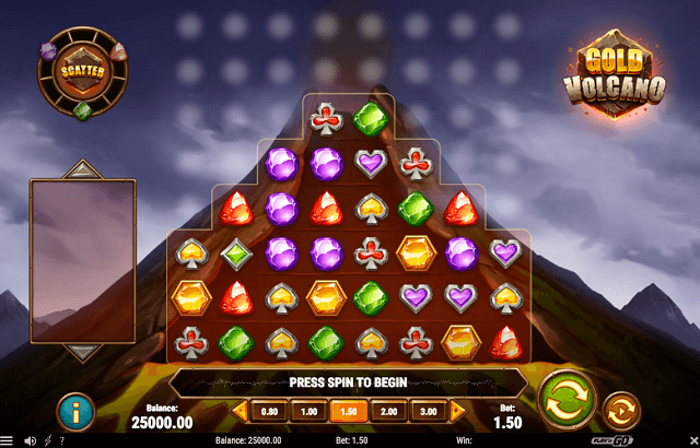 Play'n GO Unveils New Gold Volcano Slot