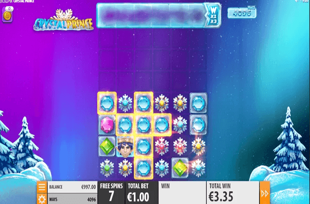Quickspin Unveils New Crystal Prince Slot
