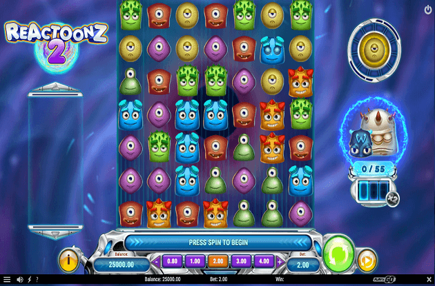 Play'n GO Launch New Reactoonz 2 Slots Sequel