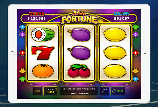 New Greentube 5 Line Fortune Slot