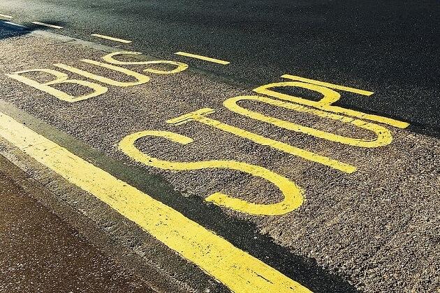 Famous Arlington Bus Stop Discontinued