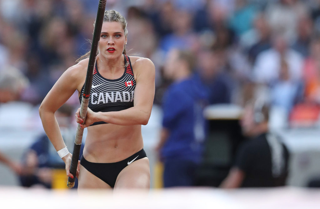 Alysha Newman Has Her Sights On Olympic Gold