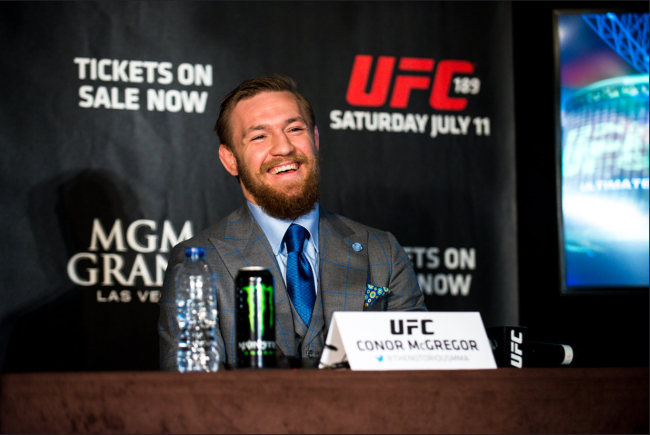 McGregor Intent On Mayweather Rematch