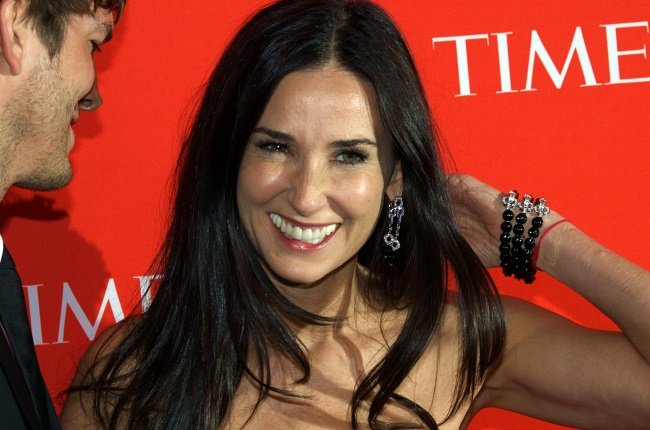Demi Moore Shelters In Place With Ex & Kids