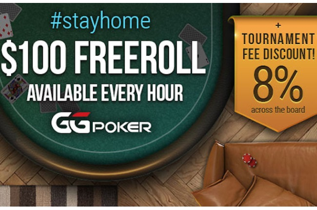 GGPoker Launches StayHome Freerolls