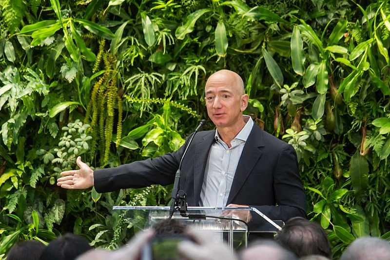 Jeff Bezos Pledges $10bn To Earth Initiative