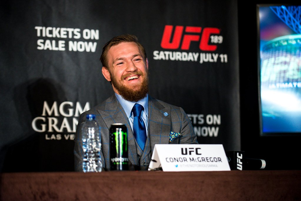 Conor Wants A Piece Of Justin After UFC 249