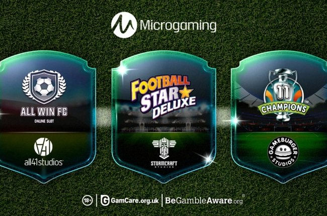 Microgaming Reveal Trio Of Sports Slots