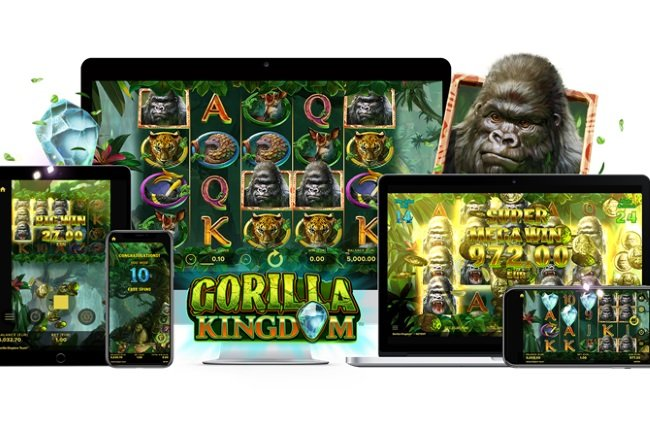 NetEnt Wows With New Gorilla Kingdom Slot