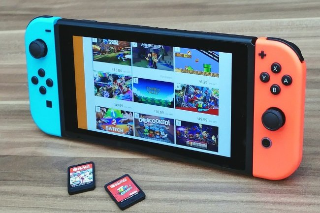Coronavirus-Nintendo Switch In Short Supply