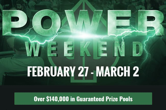 Playground Poker's Power Weekend Coming Up
