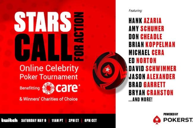 PokerStars Announces Celebrity Poker Event