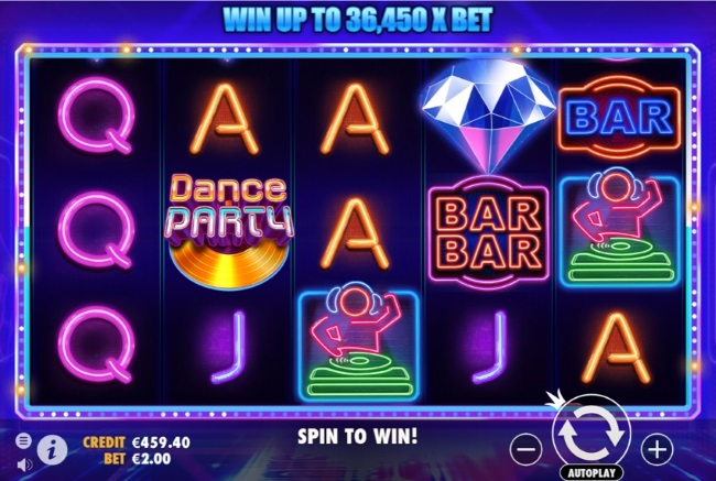 Pragmatic Play Unveils Dance Party Slot