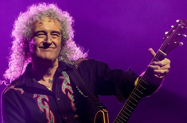 Queen's Brian May Tells Of Heart Attack