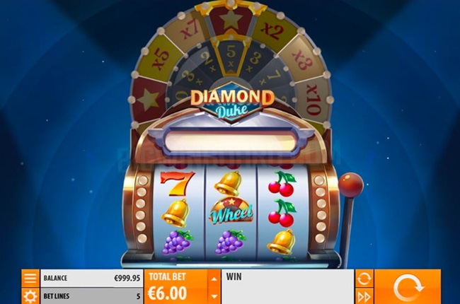 Quickspin Unveil New Diamond Duke Slot