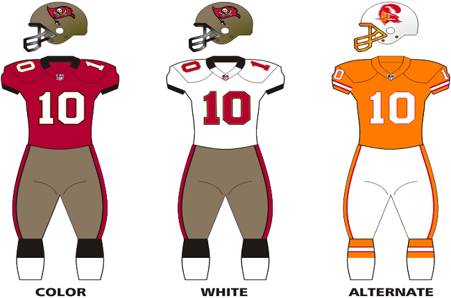 Tampa Bay Bucs Unveil New Colours