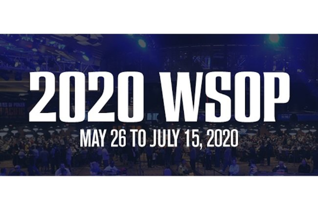 WSOP Yet To Confirm 2020 Series Cancellation