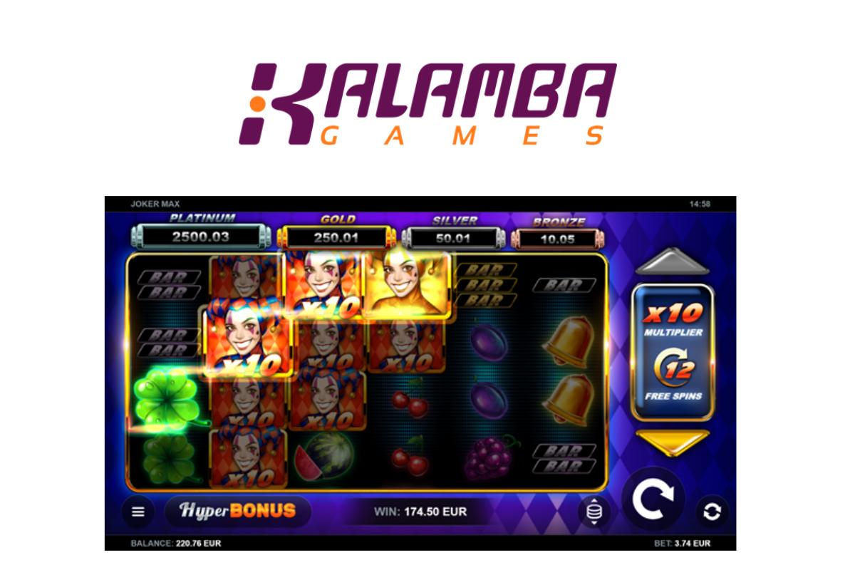 Kalamba Releases Joker MAX Online Slot